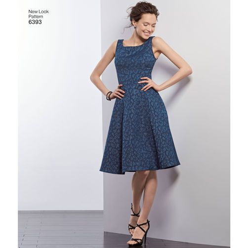 New Look Pattern 6393 Misses\' Easy Dress and Purse   Fun clothes ...