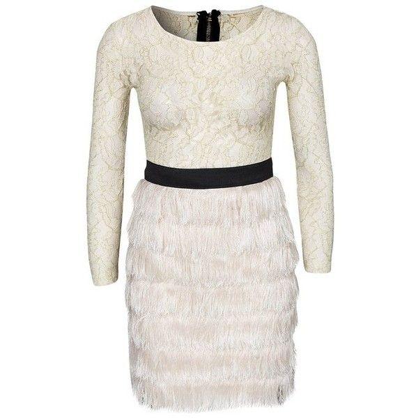 Rare London Women's Lace Fringe Dress: Amazon.co.uk: Clothing via Polyvore