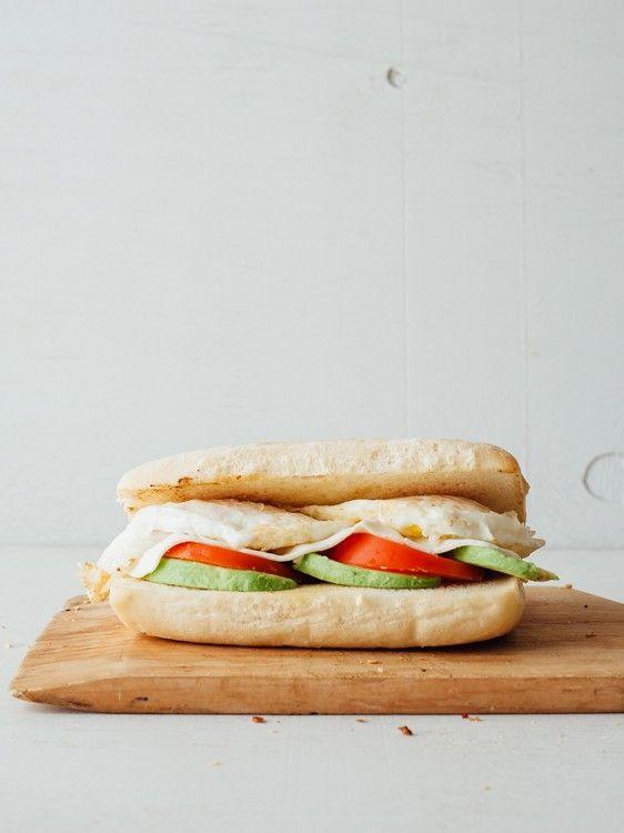 Power Breakfast  2 eggs, any style, avocado, fresh mozzarella, tomato, oven roasted potatoes, grilled ciabatta toast