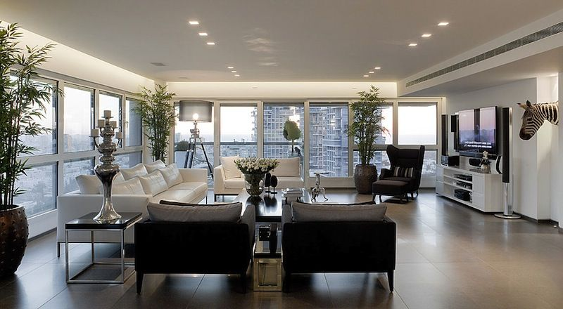 Image for high rise apartment inside design decor decorating ideas