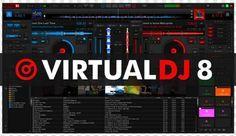 Virtual Dj 8 Download For Windows 10 Virtualdj Is A Dj Software Program For Dj Pro Dj Music Software