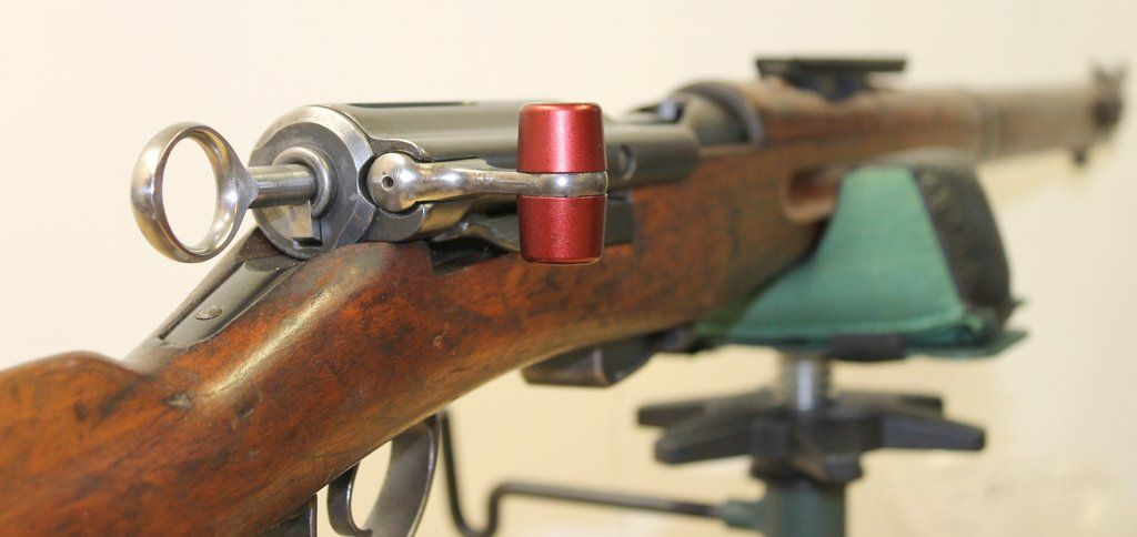 Aluminum Bolt Handle Knobs for Swiss Schmidt Rubin Rifles Models