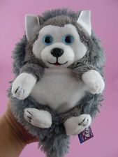 Jay At Play Hideaway Pets Siberian Husky 5 Foldable Stuffed Dogs