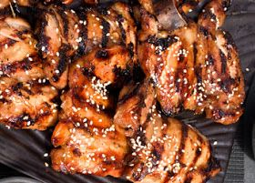 from the kitchens of kkp: spicy grilled chicken, korean style