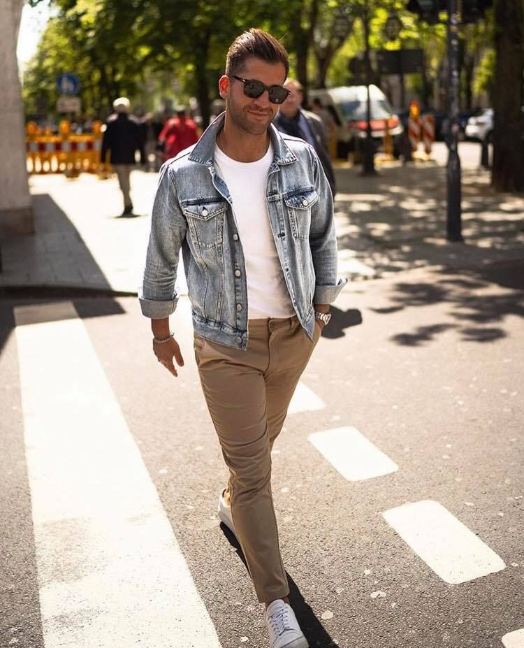 Photo of Chinos are great pants for the summer, they're comfortable, cool and they look…