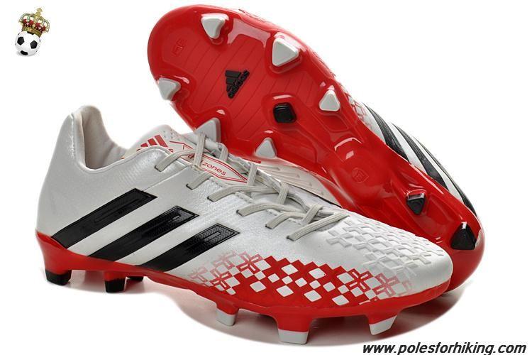 Adidas predator lz whiteblackhires red trx fg