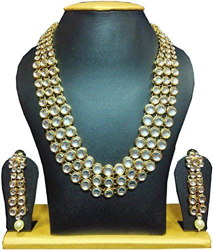 Karatcart Anushka Sharma Bollywood Inspired Kundan Necklace Set For Women