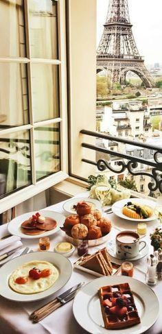 Paris Je T Aime Paris Paris Travel Breakfast
