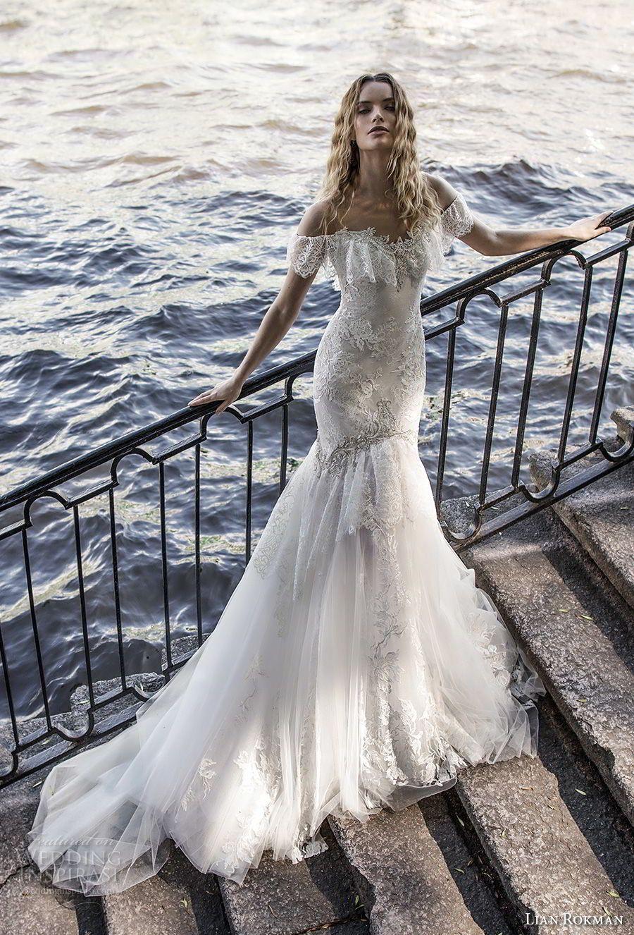 "Lian Rokman 2018 Wedding Dresses — ""Stardust"" Bridal Collection | De ..."