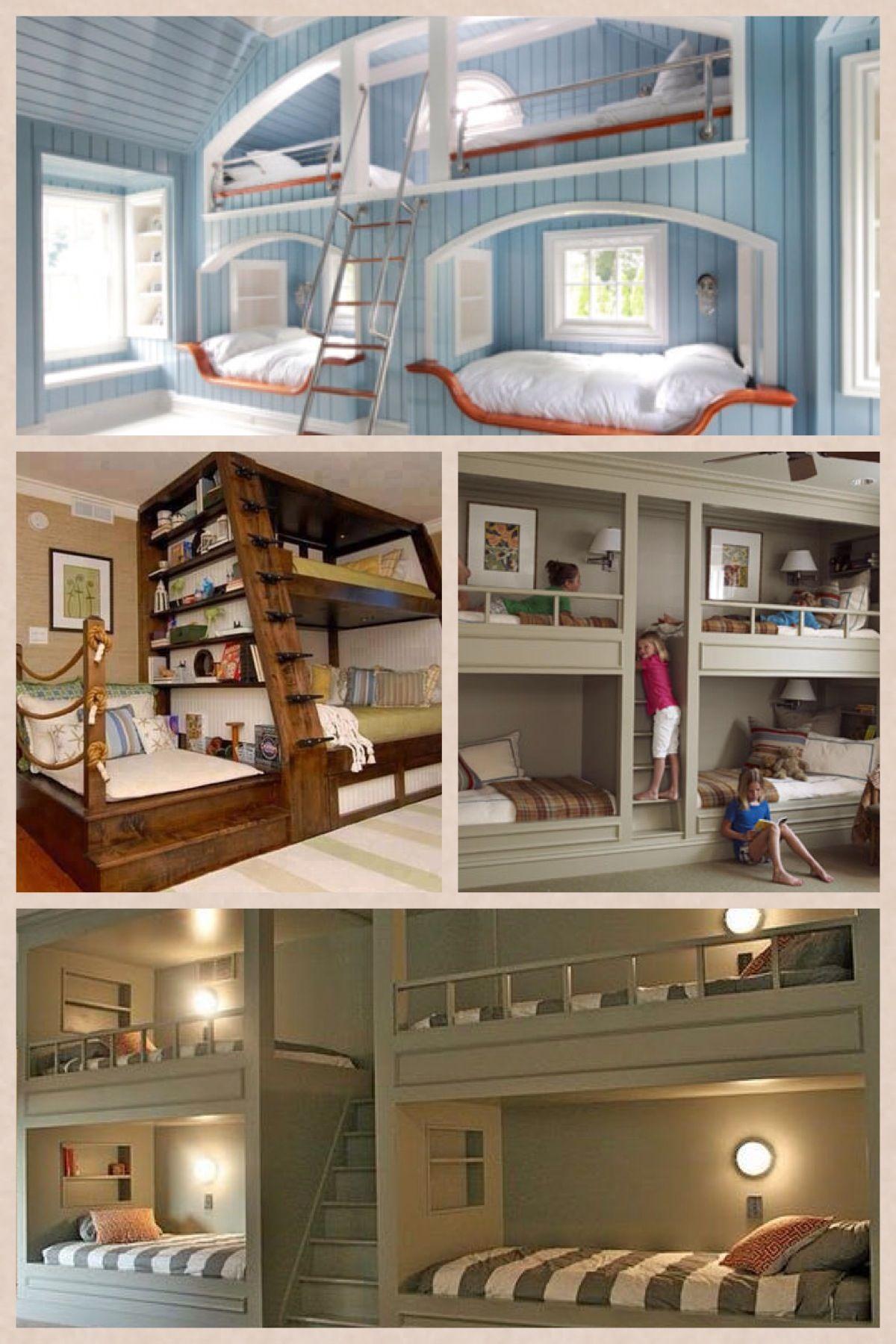 Hamptons Haus, Etagenbetten, Kleine Häuser, Zimmereinrichtung, Ideen,  Innenräume
