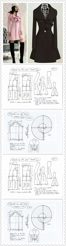 Patrones | Vesturario y Accesorios | Pinterest | Patrones, Costura y ...