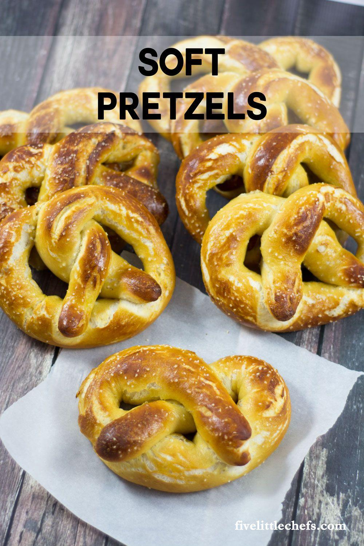Homemade Soft Pretzels Pretzels Recipe Pretzels And Snacks