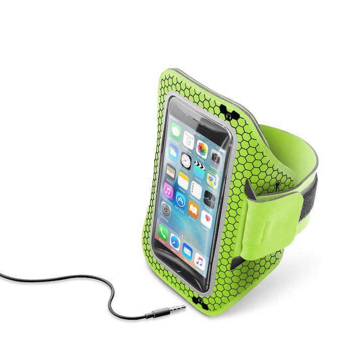 Cellular Line Armband Running Lime Mediaworld It Porta Pc