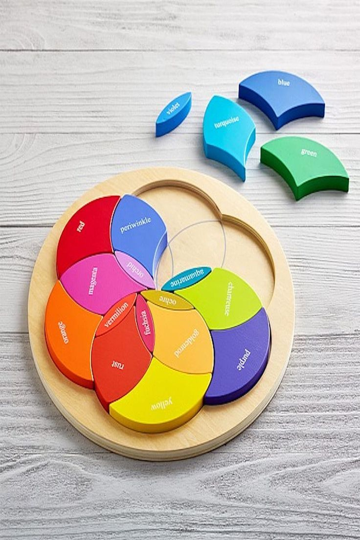 Color Wheel Puzzle Pottery Barn Kids Coloring For Kids