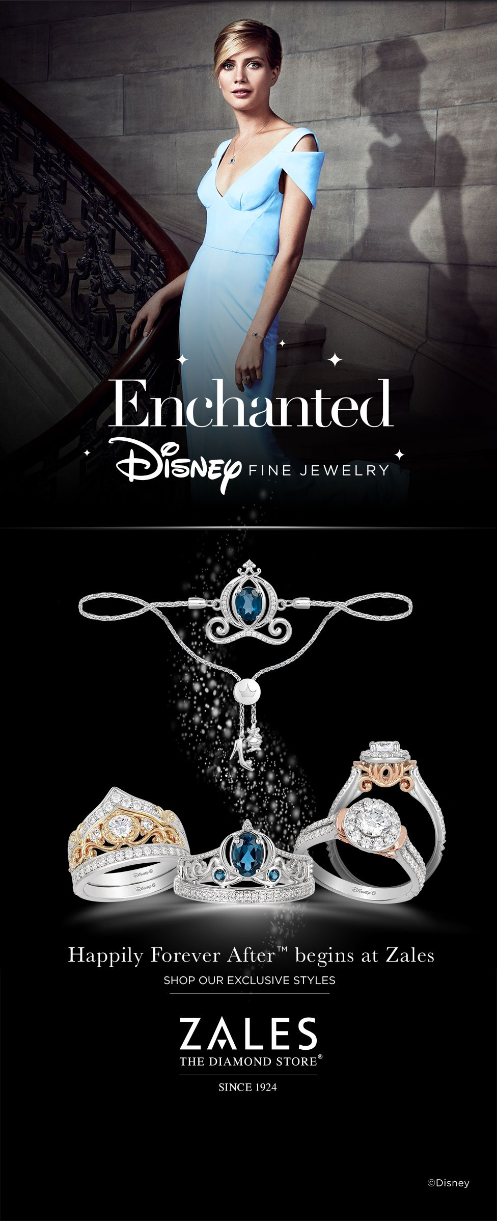 If You Believe In Romance Dreams And Happily Forever After You Will Fall In Love With Enchan Disney Fine Jewelry Enchanted Disney Fine Jewelry Disney Jewelry