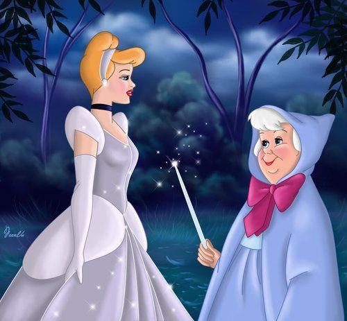 Disney S Cinderella And Fairy Godmother Cinderella Fairy