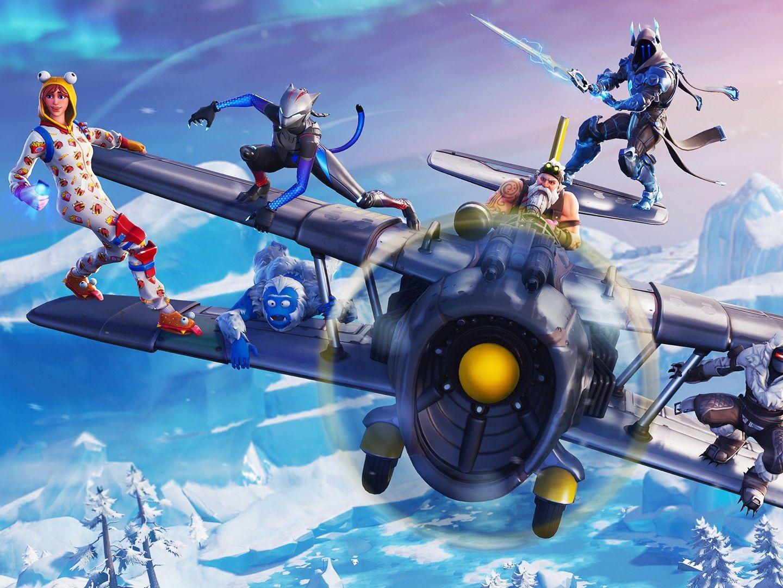 'Fortnite''s Season 7 Drops Players in a Winter Wonderland