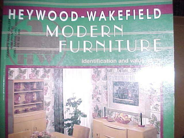 heywood wakefield modern furniture identification values