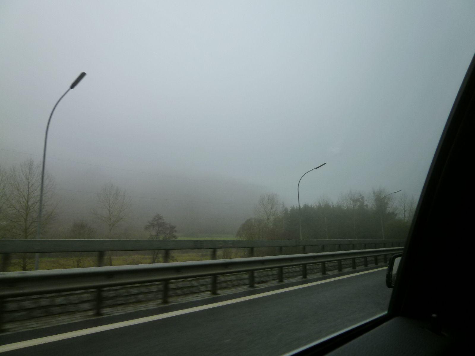 """""""Macchina""""  Luxembourg Central→Vianden, Luxembourg, Novembre"""
