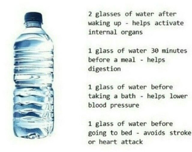 Need to drink water!!!