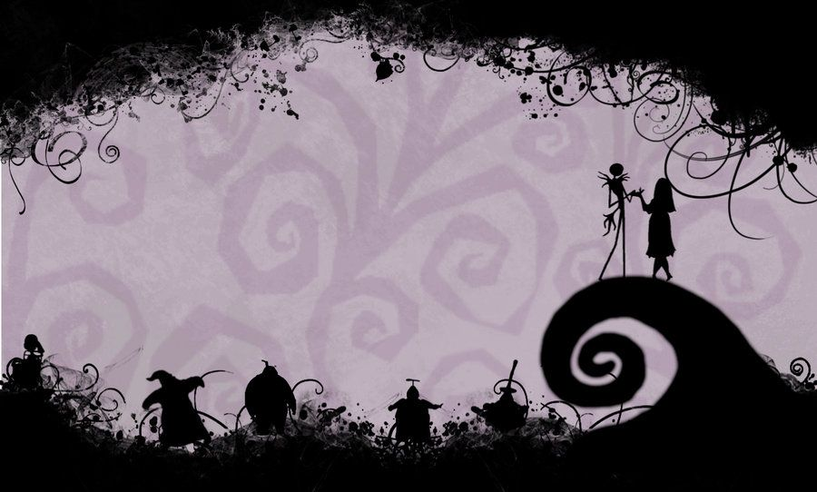 Nightmare Before Christmas Desktop Wallpaper By Cyanideseason Deviantart Com Nightmare Before Christmas Wallpaper Halloween Desktop Wallpaper Christmas Desktop
