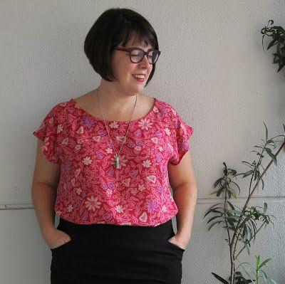 Cookin' & Craftin': Batik Seamwork Akita Blouse