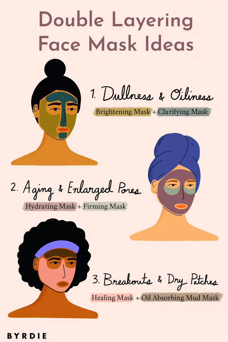 Photo of Layering Face Masks Is the Low-Key, Genius Step You've Been Skipping
