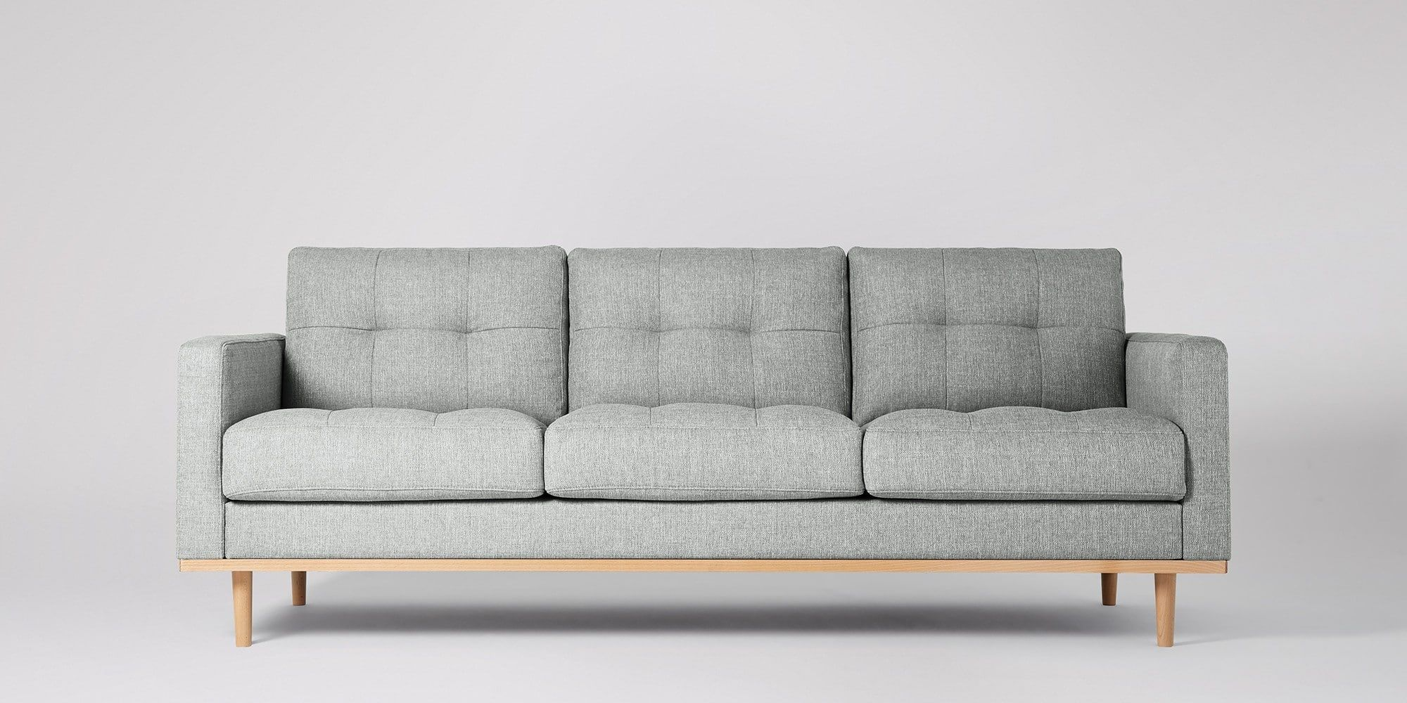 Berlin mid century design mid century and living rooms berlin three seater sofa swoon editions parisarafo Choice Image
