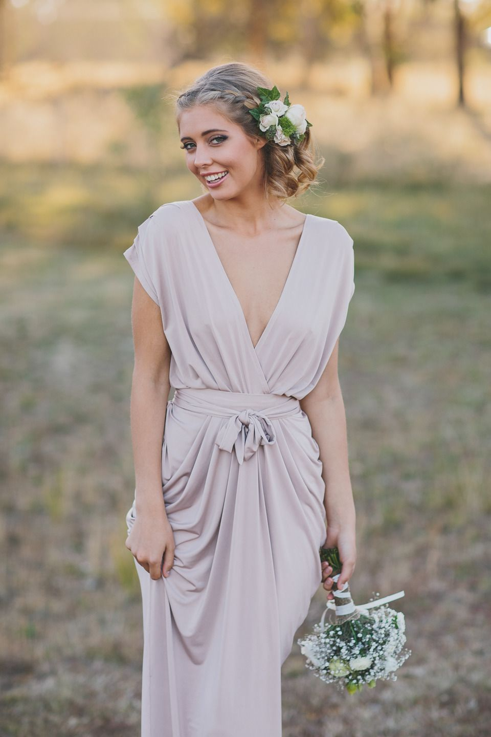 French Country Bridal Shoot Country bridesmaid dresses
