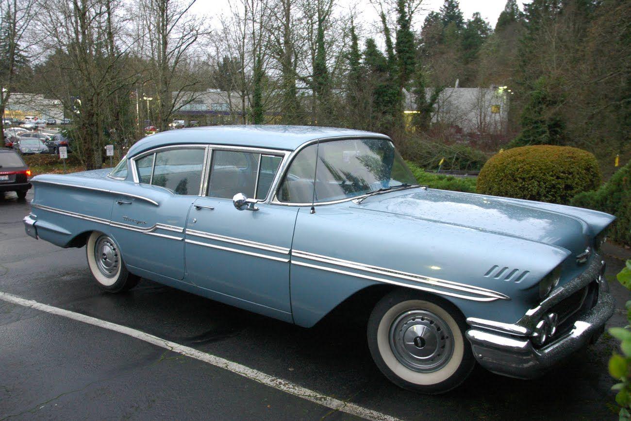 1958 chevy biscayne 4 door sedan
