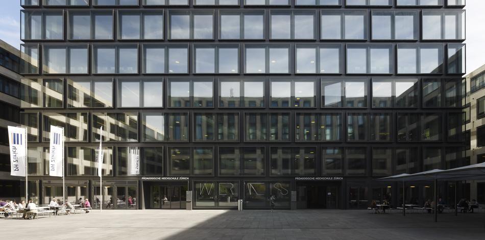 Max dudler architekt p dagogische hochschule z rich - Fh frankfurt architektur ...