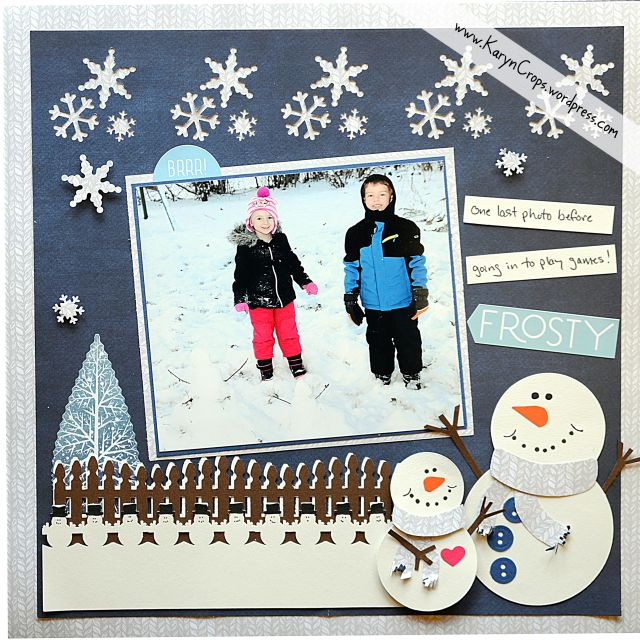 Winter Blog Hop With Creative Life