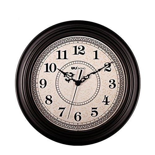 Sonyo Silent Non Ticking Round Wall Clocks 12 Inches Decorative Vintage Style Roman Numeral Clock Antique Wall Clocks Wall Clock Silent Classic Clocks