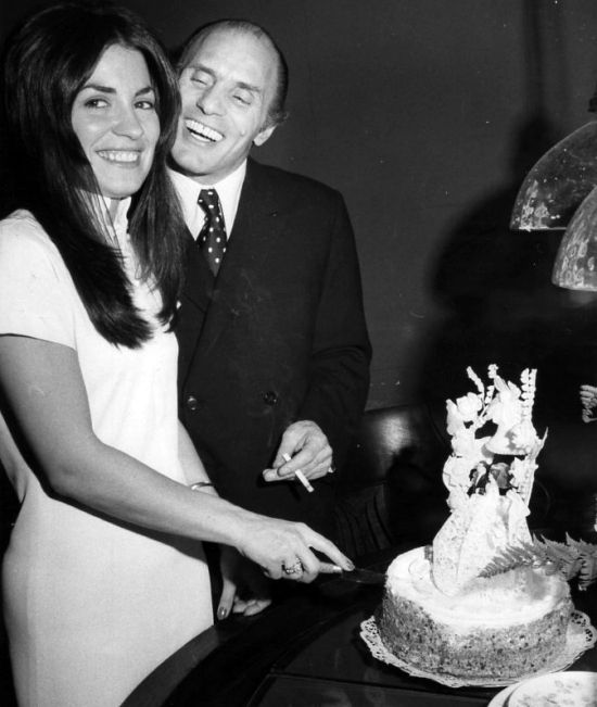 """Joey Gallo wedding photo. Joseph Gallo (April 7, 1929 – April 7, 1972), also known as """"Crazy Joe"""" and """"Joe the Blond"""", was a celebrated New York City gangster for the Profaci crime family, later known as the Colombo crime family. Gallo initiated one of the bloodiest mob conflicts since the 1931 Castellammarese War and was murdered as a result of it."""