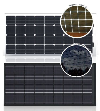 Monocrystalline Pv Solar Panel Glass Glass 36m Facade Style 145 155 W Visit Page View Image