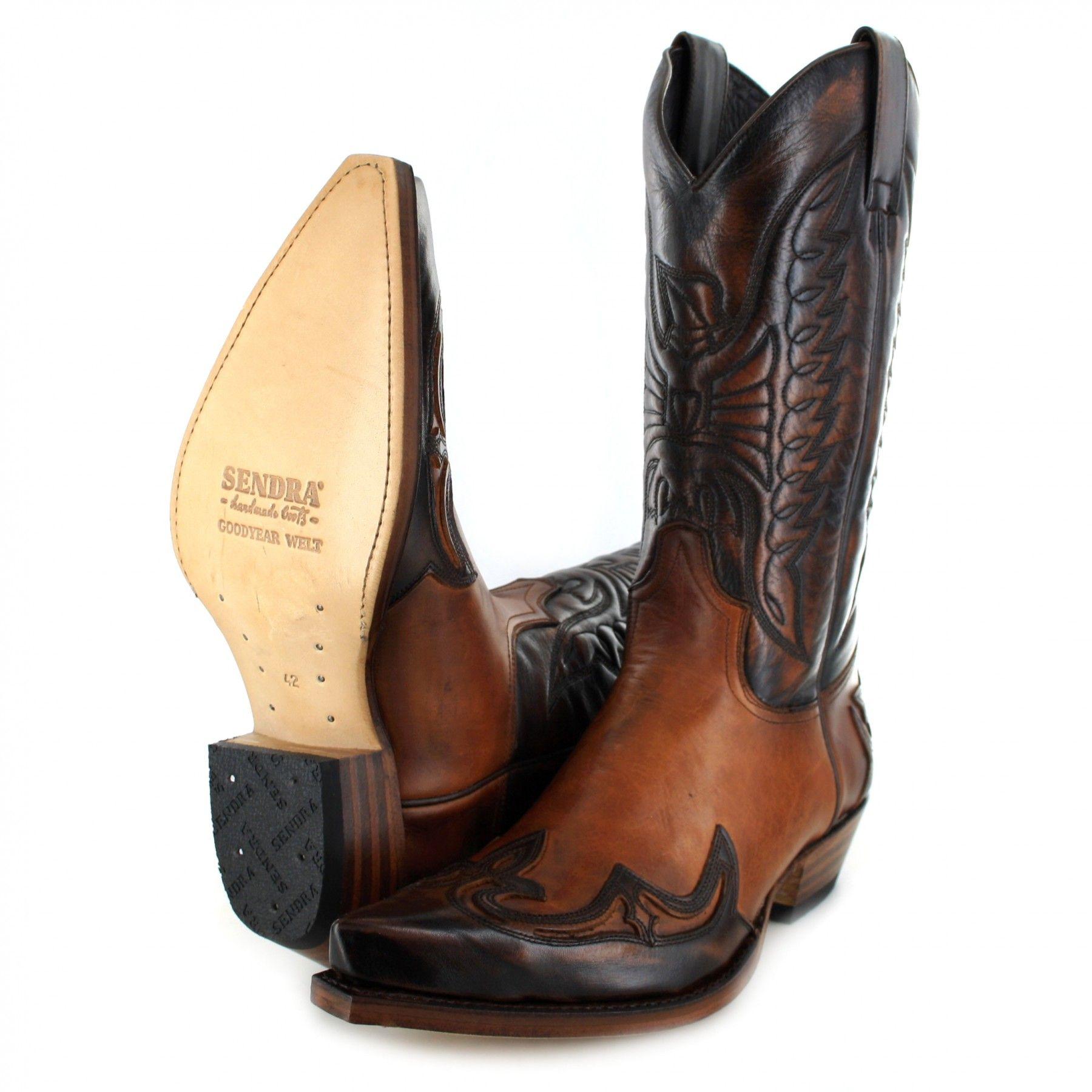 SENDRA Western Stiefel Boots Cowboystiefel