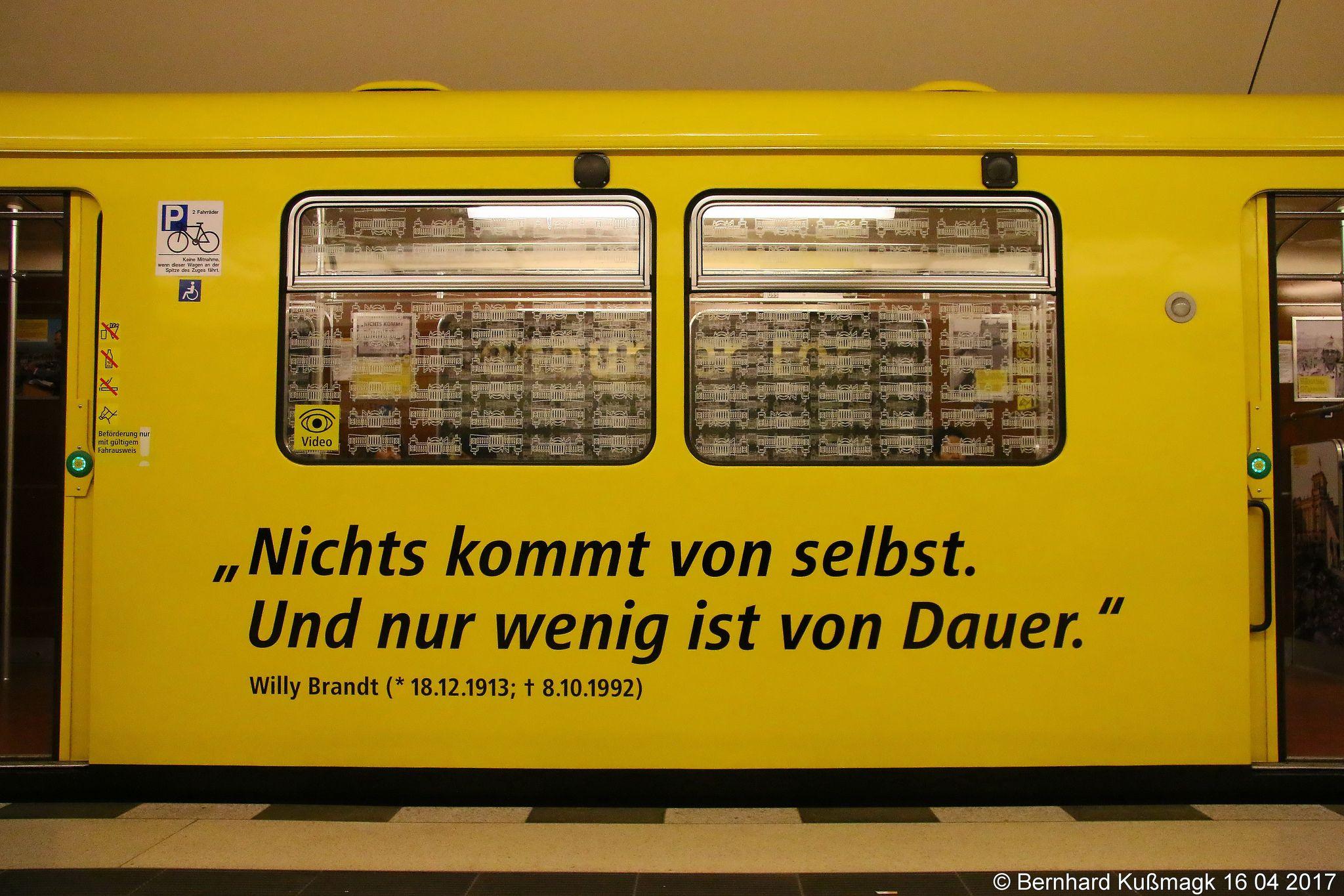 Europa Deutschland Berlin Mitte U Bahnhof Brandenburger Tor U Bahn Linie U5 Underground Cities Metropolitan Line Underground