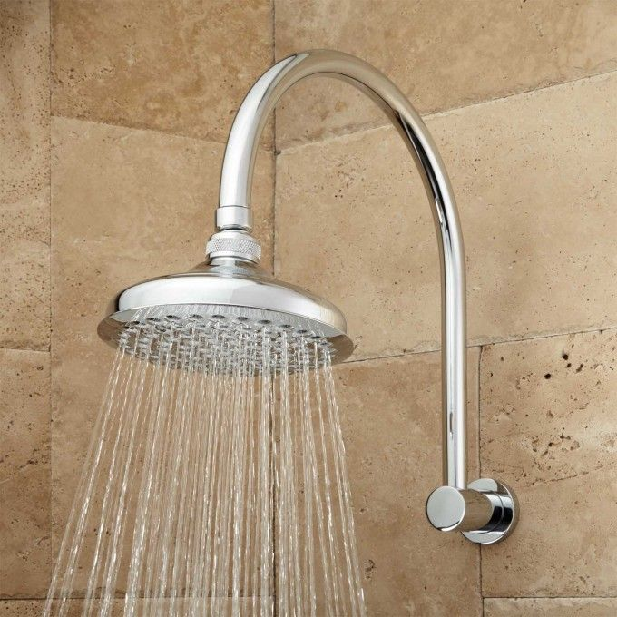 Roux Rainfall Shower Head With Modern Arm With Images Rainfall
