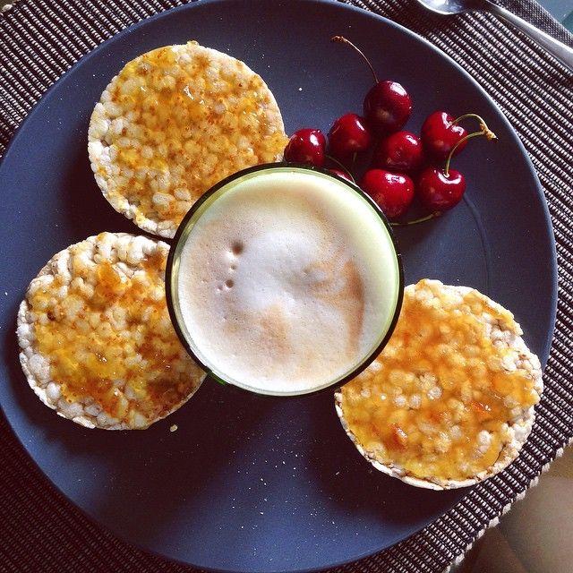Buongiorno colazione con gallette di riso con for Buongiorno con colazione