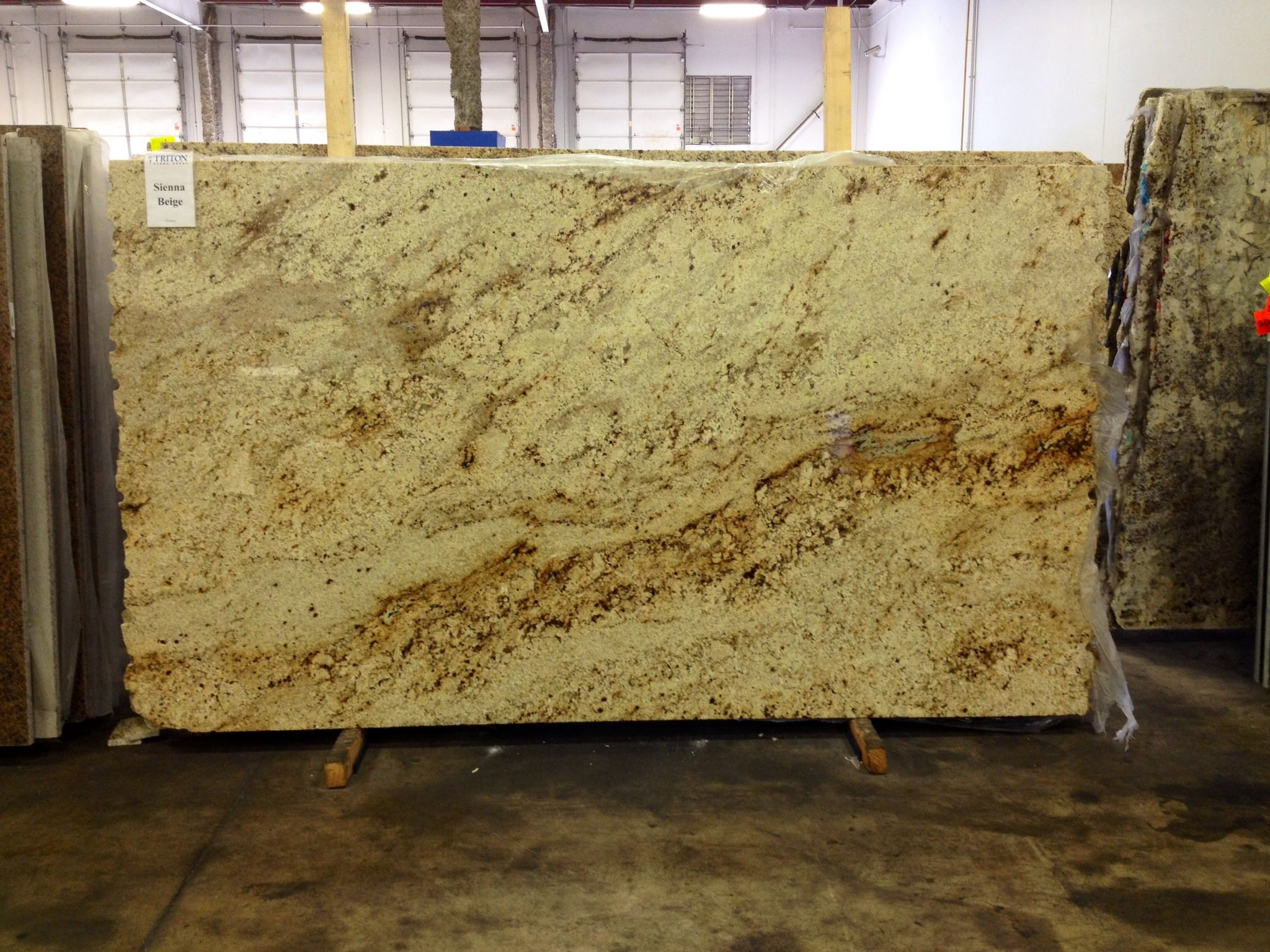 Sienna Beige Granite   Contact @Jennifer Ware Stone Group Of Louisville At  502.267.9303