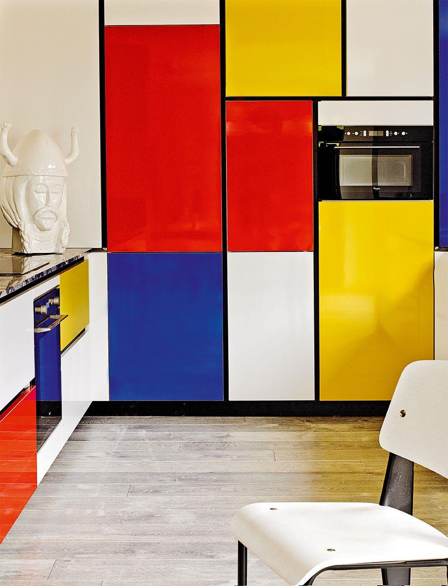 Art Deco Ad Espa A Pablo Zamora La Cocina Imita Los Cuadros  # Muebles Laminados
