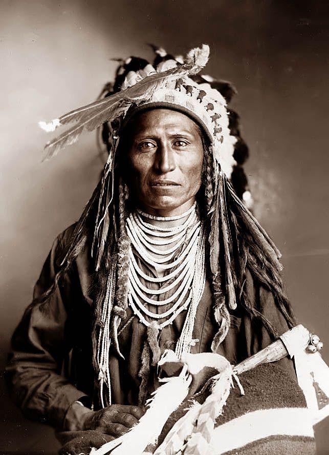 Shoshone Indian named Heebe-tee-tse 1899