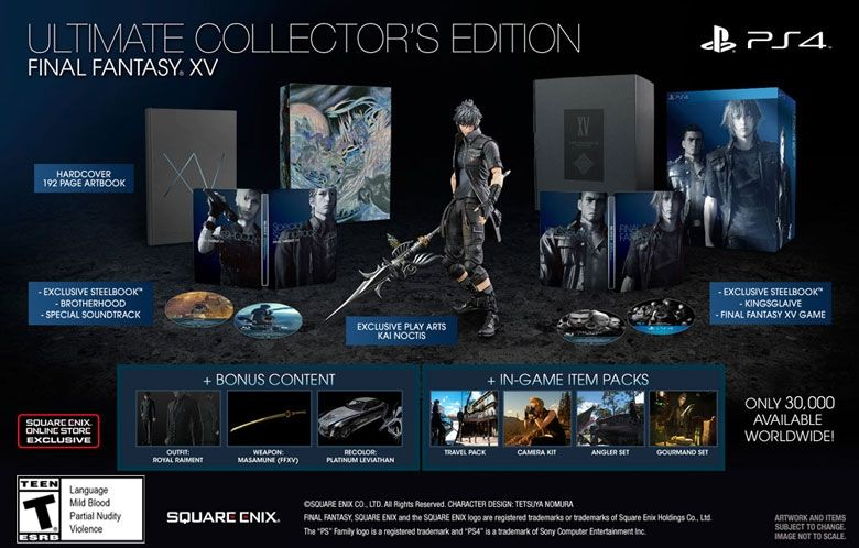 Pre-order any version of the FINAL FANTASY® XV game from the SQUARE ENIX ONLINE STORE to gain access to the Carbuncle Surprise Sweepstakes!...