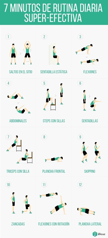 ▷ 1001 + ideas de ejercicios para hacer en casa cada día
