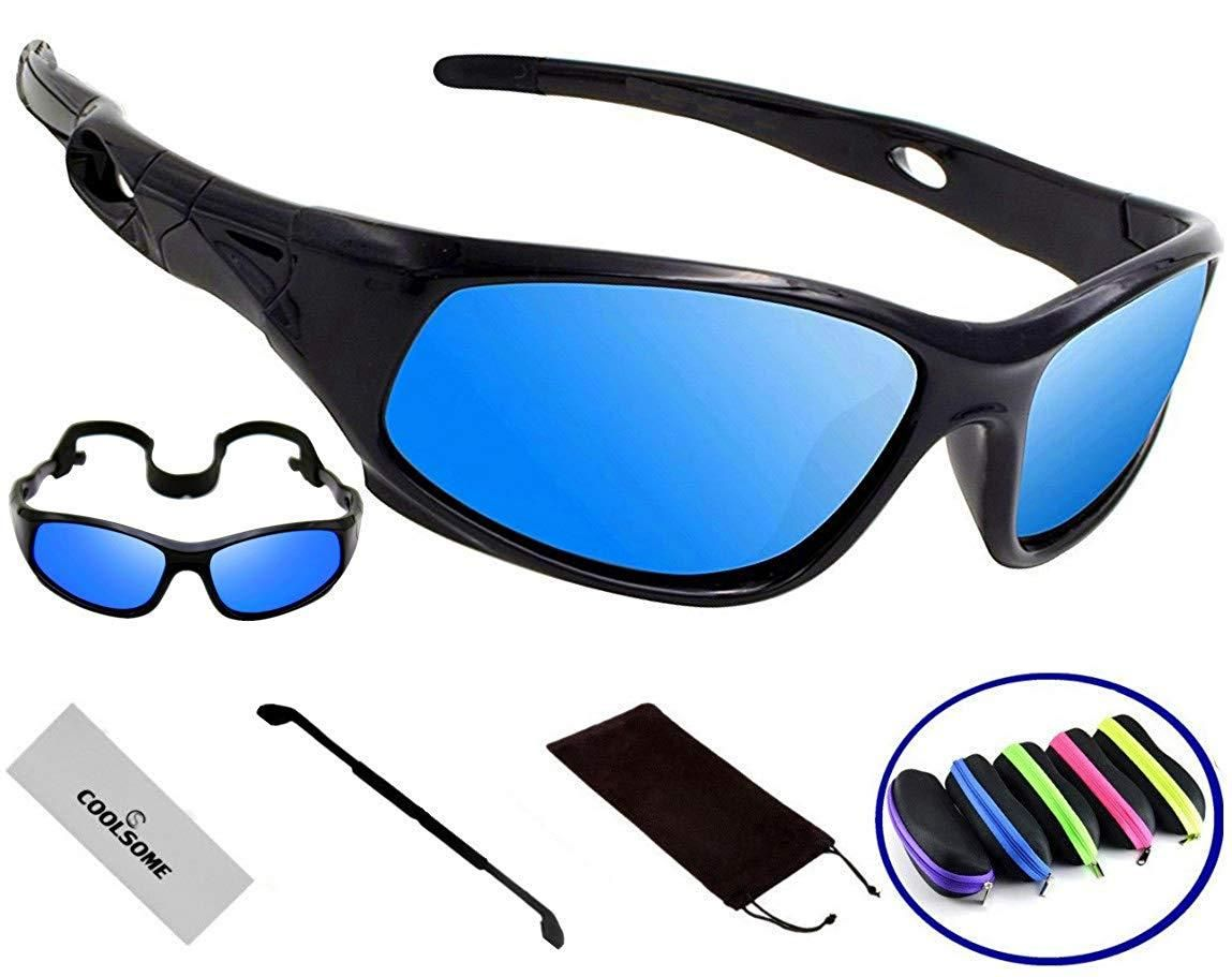 COOLSOME Bendable Rubber Kids Polarized
