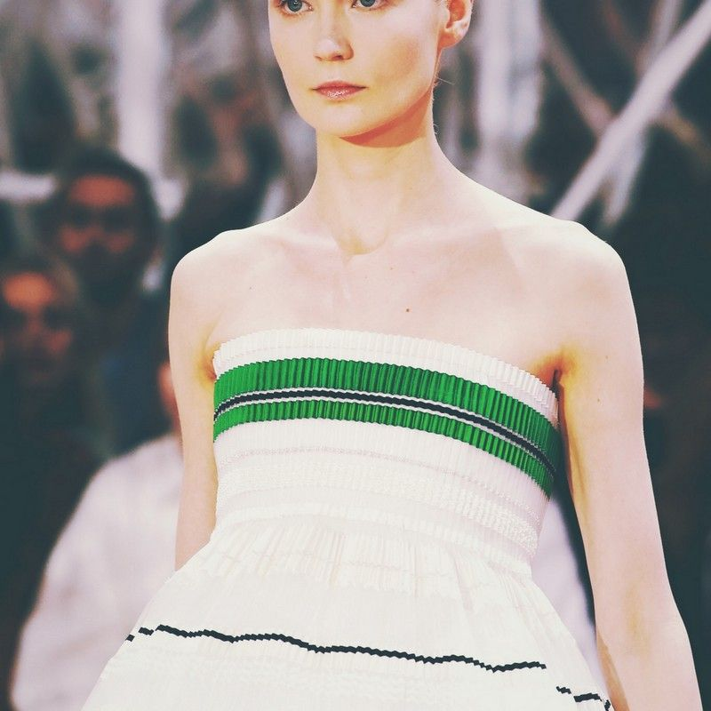 Fashion. Runway. Christian Dior.