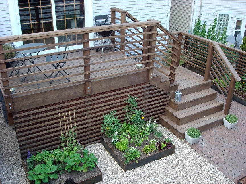 Best After Back Yard Deck Skirting Decks And Porches 400 x 300