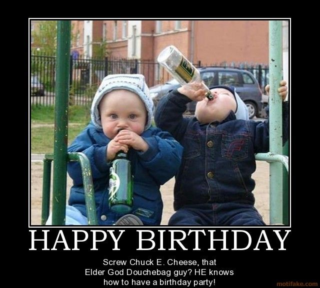 Funny Birthday Drinking Meme : Happy birthday posters to share on facebook