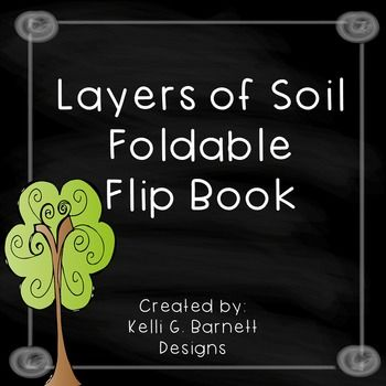 Layers of Soil Foldable Flip Book for Interactive Science