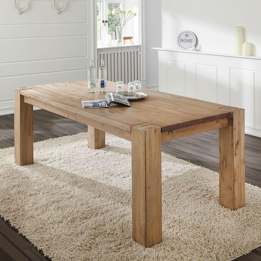 Esstisch Massiv Akazie Esstisch Alenja Kitchenette Table Dining Dining Table